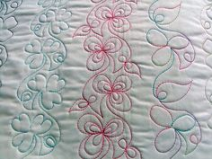 quilting | Free Motion Quilting with Stencils - Deborah Louie 2013