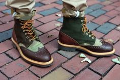 Bodega x Mark McNairy Country Brogue Boot & Shoe | Hypebeast