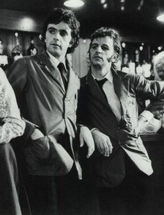 "David Essex (who recorded ""Rock On"" in 1974) and a clean-shaven Ringo co-star in the 1973 movie 'That'll be the day.'   Set in an English Summer Holiday Camp in the late 1950's, Ringo plays an oversexed 'Teddy-boy' type: (a sort-of 'Fish & Chips' version of Happy Days' ""Fonzie"") and was definitely a departure from the hapless victim of ""Help!"" the sad introspective drummer from ""A Hard Day's Night, or the goofy Saturday Morning cartoon character."