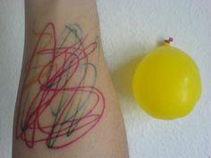Tattoos by David Shrigley