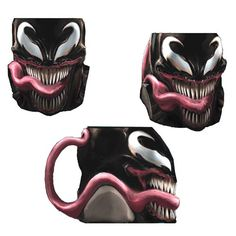 This Spider-Man Venom Marvel Molded Mug is the grossest and coolest marvel mug you can find. It will make your kitchen cabinet absolutely terrifying.