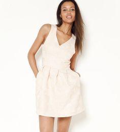 Lingerie, Pulls, White Dress, Dresses, Fashion, Jacquard Dress, Dressed In White, Woman Clothing, Dress Ideas