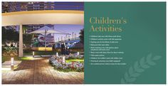 Facilities that are perfectly tuned to your sense of style. Children's Activities at #SaiMannat   For more information, please visit http://paradisegroup.co.in/mannat_overview.html