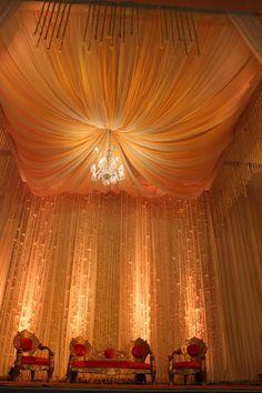 Wedding stage decoration by #Yuna Team