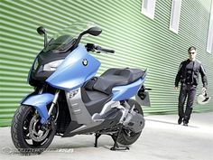 BMW C 600 Sport.   Now this, is a scooter.