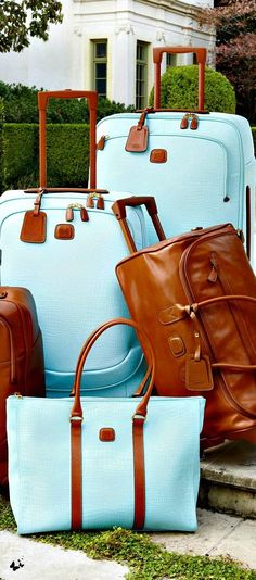 "travel bag, Bric's ""Esmeralda"" Luggage Collection - Gorgeous/Beautiful well dreams are free Luggage Sets, Travel Luggage, Travel Bags, Travel Backpack, Airport Luggage, Small Luggage, Hand Luggage, Travel Packing, My Bags"