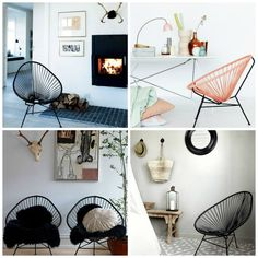 luxxury livving - Acapulco Chair Collage