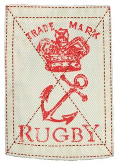 ROB HOWELL Crown and Anchor Printed Patch for RUGBY RALPH LAUREN