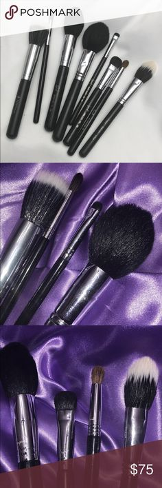 Sigma/ Crown Brushes I few brushes that I don't find myself using.  They've been used a few times but are like new!   Bundle for savings or make me an offer! Sigma Beauty Makeup Brushes & Tools