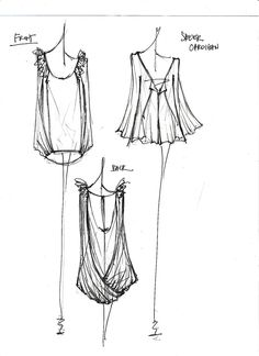 fashion design sketches | Fashion Design Sketches 2010