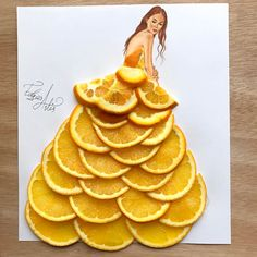 Orange couture I wish i could preserve the ones made out of food. Hope you like this guys. ❤️ I want to say i love you all with every post i make.☺️❤️
