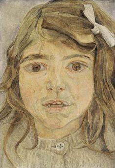 Lucian Freud – Head of a Child, 1954