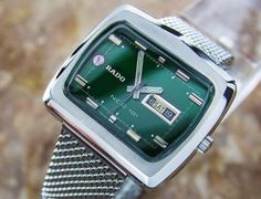 Very Rare Rado Ncc 101 Swiss Made Vintage Classic Collectible Watch For Men D129