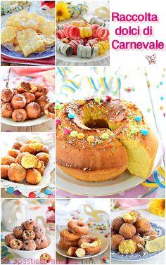 Raccolta dolci di Carnevale golosa | Lapasticceramatta Torta Angel, Mini Desserts, Fritters, Bon Appetit, Doughnut, Sweet Recipes, Donuts, Cupcake Cakes, Buffet