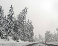 Driving over the Cascades? Get going; big storm due Sunday (12/1/13) for the Cascades, and the Seattle area may get some snow Monday night.