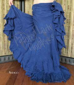 Indigo 25 Yard Petticoat Skirt  You can order yours here:  http://www.paintedladyemporium.com/Shop-Here.html