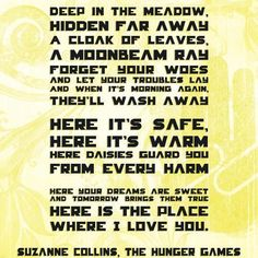 kayfraybooks | Reviews for the Romantics  Hunger Games, Rue's Song
