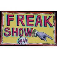 FreakShow side show sign