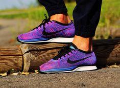 Nike Flyknit Racer Indigo Pink Flash #flyknitfriday 2016
