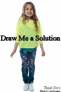 Draw Me a Solution -- mind mapping for kids (on http://thinkdive.com)