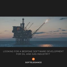 Looking for a bespoke software development for oil and gas industry? www.softelegance.com
