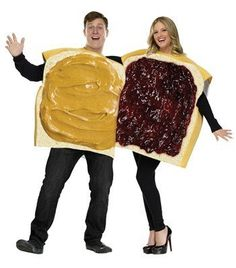 Peanut Better and Jelly Halloween Costumes