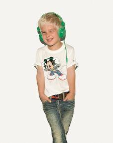 Disney and green headphones!