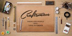 Craftsman | WordPress Craftsmanship Theme