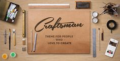 Craftsman   WordPress Craftsmanship Theme