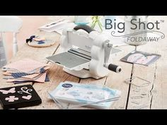 Exciting news! Today I am introducing you to a new die cutting machine by Sizzix! As a Sizzix ambassador I was happy to get this machine and I am sharing… Grand Cliché, Boutique Scrapbooking, Big Shot, Starter Kit, Storage Spaces, This Is Us, Shots, Youtube, Cricut