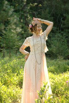 Cotton Crochet Lace Top... Romantic Boho by AstralBoutique on Etsy, $32.00