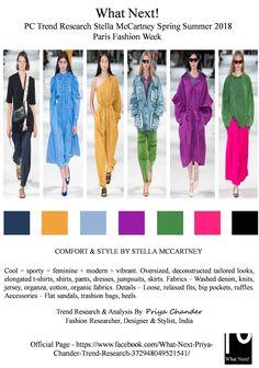 #StellaMcCartney #fashion #Springsummer2018 #SS18 #StellaMcCartneySS18 #PFW #Parisfashionweek #fashionweek #fashionweek2018 #designers #fashionforecast #colortrends #Pantone #PriyaChander #WhatNextPriyaChanderTrendResearch #washeddenim #denim #pants #dresses #jumpsuits #skirts #fashiontrends #fashionindustry #fashionworld #organicfabrics #oversized #relaxedwear #brightcolors #hotpink #fashionresearch #fashionweekanalysis #flatsandals