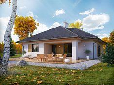Projekt domu Dedal 114,94 m2 - koszt budowy 255 tys. zł - EXTRADOM