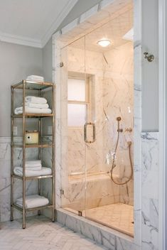 Marble In Your Bathroom- Elegant and Glamorous Solution - ArchitectureArtDesigns.com