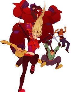 Big Hero 6 Movie Characters | Big Hero 6- Assemble!