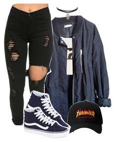 """""""Starboy"""" by queen-tiller ❤ liked on Polyvore featuring Urban Outfitters, Alexander Wang and Vans"""