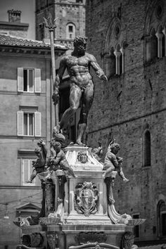 Neptune, Baroque statue Bologna IItaly by Marco Ravenna on 500px