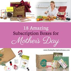 Find Mom the perfect gift this Mother's Day with these amazing subscription boxes for Mom! Garden kits, artisan ingredients, beauty products & more delivered! http://www.findsubscriptionboxes.com/a-closer-look/amazing-mothers-day-subscription-boxes/?utm_campaign=coschedule&utm_source=pinterest&utm_medium=Find%20Subscription%20Boxes&utm_content=18%20Amazing%20Mother%27s%20Day%20Subscription%20Boxes  #MothersDay