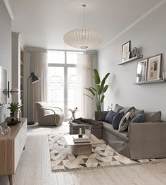 Chasing After The Sunset: Summer Trends For Your Interior Design Living Room Decor Inspiration, Living Room Decor Cozy, Living Room Modern, Home Living Room, White House Interior, Flat Interior Design, Home Room Design, Living Room Designs, Stylish Home Decor