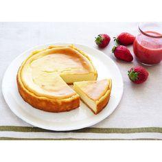クミタス レシピ ヨーグルト入り米粉のベイクドチーズケーキ