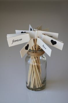 Wedding Flags & Short Cocktail Stirrers - Set of 18 (Country / Rustic / Vintage Wedding Props Decor) Australia