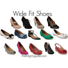 """""""Wide Fit Shoes/ duoboots.com"""" by papertigerrr on Polyvore"""
