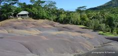 Chamarel waterfalls - 7 coloured earth