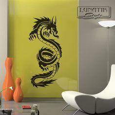 Popular Wandtattoo China Drache Dragon WD