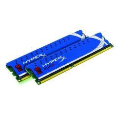 Kingston Technology HyperX 8 GB (2x4 GB Modules) 1600 MHz DDR3 Dual Channel Kit (PC3 12800) 240-Pin SDRAM KHX1600C9D3K2/8GXAll HyperX modules are built from...