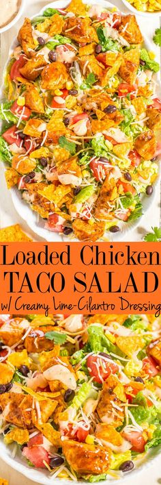 Loaded Chicken Taco