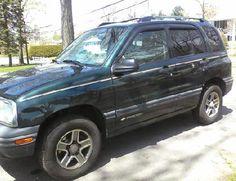 CHEVROLET 2004 TRACKER - 2004 Chevrolet Tracker SUV, 4x4, Automatic, Power Windows, P... #ReferLocal