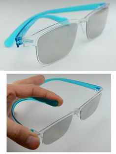 Light Vivid 3D passive Glasses LG realD polarized TV boy Blue Panasonic Sony
