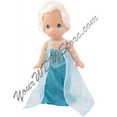 Your WDW Store - Disney Precious Moments Doll - 'Frozen' Elsa Doll by Precious Moments