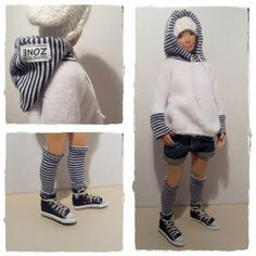 Lammily Doll Outfit / Lammily Clothes / Fleece by LammilyOutfits